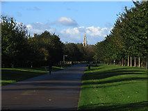 TQ3377 : Burgess Park on a sunny day by Stephen Craven