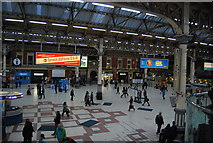 TQ2879 : Forecourt, Victoria Station by N Chadwick