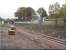 NT3364 : The Borders Railway at Newtongrange by M J Richardson