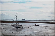 NU1341 : Lindisfarne harbour by David Chatterton