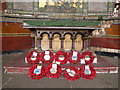 TQ4378 : Poppy wreaths in St George's chapel, Woolwich by Stephen Craven
