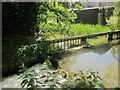 SU0931 : Weir and sluice, Wilton by Derek Harper