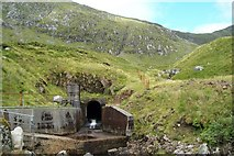 NN0829 : Collected Water Bound For Cruachan Reservoir by James T M Towill