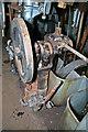 SU6303 : HMS Stalker - port engine room - turning gear by Chris Allen