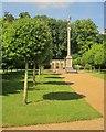 SU1030 : Egyptian column and loggia, Wilton Park by Derek Harper