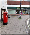 SU0061 : Victorian pillarbox in Devizes town centre by Jaggery