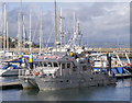 J5082 : The R/V 'Keary' at Bangor by Rossographer