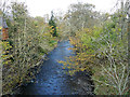 NT5326 : Rope bridge over the Ale Water at Midlem Mill by Oliver Dixon