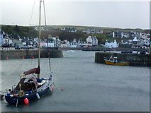 NW9954 : Portpatrick Harbour by John H Darch