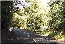 SH2332 : Leaving Sarn Meyllteyrn on B4413 by John Firth