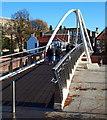 TF3244 : St Botolph's Footbridge, Boston, Lincs by David Hallam-Jones