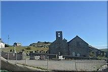 SH1726 : Aberdaron church by John Firth