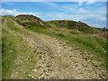SE0227 : Quarry Track in Foster Clough Delf by Humphrey Bolton