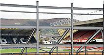 J3272 : The new Railway Stand, Windsor Park, Belfast - October 2014(1) by Albert Bridge
