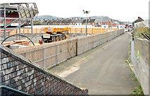 J3272 : Access road, Windsor Park, Belfast (October 2014) by Albert Bridge