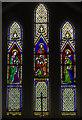 TQ8713 : East Window, Ss Mary & Peter church, Pett by Julian P Guffogg