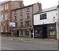 SO5012 : Viyella and an empty shop in Monmouth by Jaggery