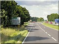 SK9227 : Northbound A1, Exit for Stoke Rochford by David Dixon