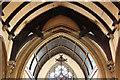 TQ4084 : Emmanuel, Forest Gate - Roof by John Salmon