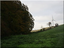 SE9238 : Plantation and wind turbine by Jonathan Thacker