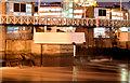 J3474 : The Lagan weir footbridge, Belfast (night view) - October 2014(5) by Albert Bridge