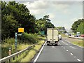 SK9229 : Speed Camera on the A1 near Great Ponton by David Dixon