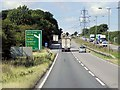 SK9230 : Layby North of Great Ponton by David Dixon