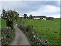 SS7008 : The road to Clotworthy Farm by David Smith