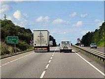 SK8836 : Northbound A1 near Barrowby by David Dixon
