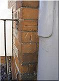 SY6778 : Benchmark by street furniture by Neil Owen