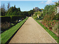 TQ1352 : Polesden Lacey terrace walk by Alan Hunt