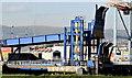 J3475 : Ferry berth, Belfast harbour (October 2014) by Albert Bridge