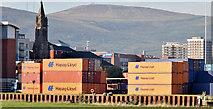 J3475 : Containers, Belfast harbour (October 2014) by Albert Bridge