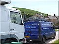 SY4690 : Mark Latimer's Broadchurch Plumbers Van by Nigel Mykura