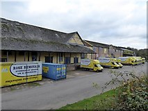 SS7207 : Buildings used by a removals and storage company by David Smith