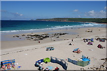 SW3526 : Whitesand Bay by Bill Boaden