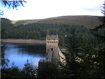 SK1789 : Dam tower, Derwent Reservoir by Richard Vince