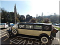 SZ0891 : Bournemouth: wedding car outside the Town Hall by Chris Downer