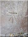 TL0570 : Ordnance Survey Cut Mark by Adrian Dust