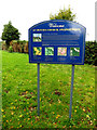 TG2100 : St.Peter's Church sign by Geographer