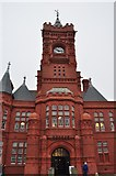 ST1974 : Cardiff : Pierhead Building by Lewis Clarke