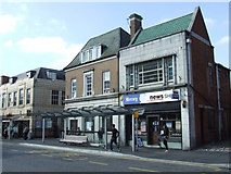 SK5319 : Shops on Baxter Gate by Thomas Nugent