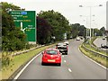 SK5734 : Westbound A52 approaching Junction with A60, Ruddington by David Dixon