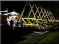 SJ6903 : Blists Hill Victorian Town - fairground by Chris Allen