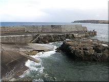 NB5363 : Slipway, Port of Ness by Hugh Venables