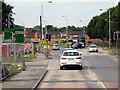 SK5434 : A453 Roadworks at Clifton by David Dixon