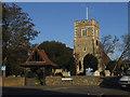 TQ5175 : St Paulinus church, Crayford by Stephen Craven