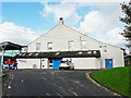 NY1230 : Former drill hall, Cockermouth Leisure Centre by Rose and Trev Clough
