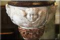 TQ3379 : St Mary Magdalen, Bermondsey - Font bowl by John Salmon