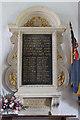 TL8262 : St Leonard, Horringer - War Memorial WWI by John Salmon
